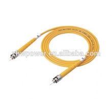 LC SC FC MTP MPO MTRJ E2000 Om3 Om4 Fibra Óptica Patch Cord LSZH