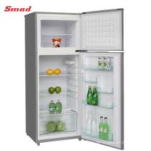 A + Home Double Door Kompressor Kühlschrank mit Schloss und Schlüssel