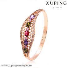 50992 Xuping Copper Hight Quality Gold Bangles Jewelry