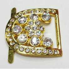 Diamante Alloy Buckle for lady Shoes Ornaments