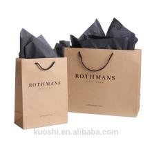 fabricante de bolsas de papel de bajo costo de china