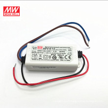 MEAN WELL 3 years warranty UL CE 3x1w led driver APV-8-12