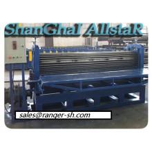 Telhado ondulado barril que faz a máquina