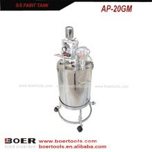 Bomba de diafragma do ar do tanque da pintura de ar & tanque de aço inoxidável do agitador do ar