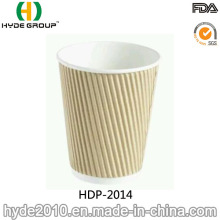 12oz Disposable Ripple Wall Coffee Paper Cup (HDP-2014)