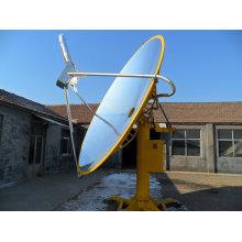 Seções Técnicas de Concentração de Coletor Solar