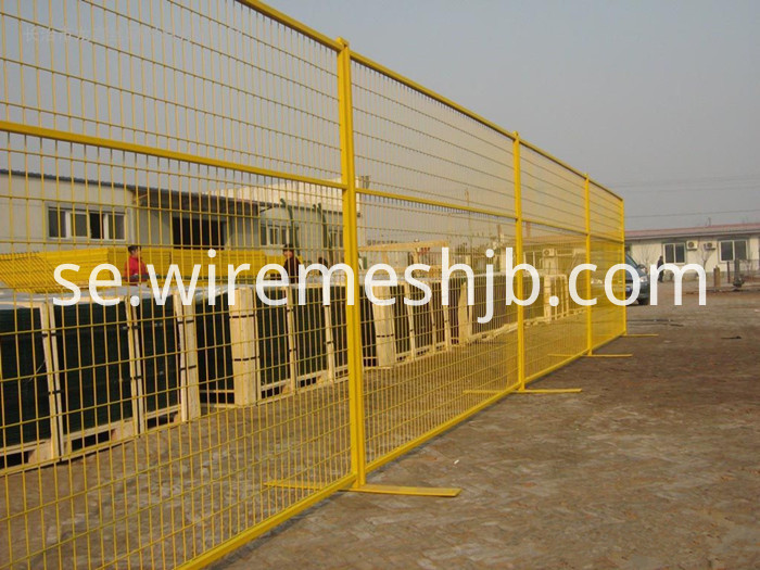 Temporary Wire Mesh Fencing