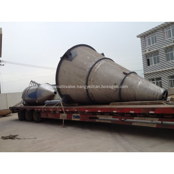 Conical Screw Mixer with Butterfly Valve