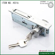 wholesale cabinet hardware push lock for sliding door