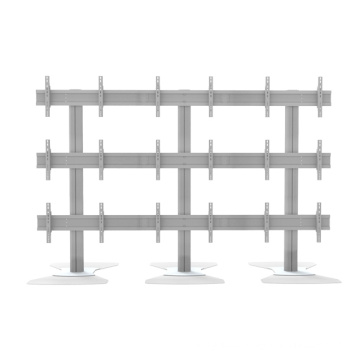 """Video Wall Stand Floorbase 9 Screen 40-55"""" (3*3) (AW 900A)"""