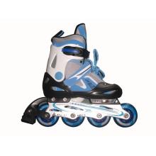Детский спортивный синий набор для конька