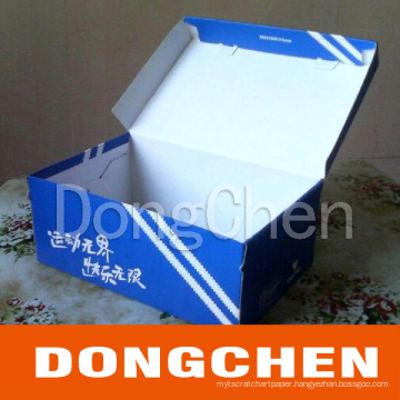 Foldabel Printed Art Paper/Coated Paper Shoe Box