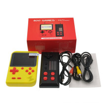 Built in 400 Handheld Game Console for Dual Player Gamepad Mobile 8 Bit TV Mini Game Console Player Consola Portatil