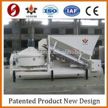 Planta de hormigón móvil de hormigón para la construcción / planta de hormigón, planta móvil de hormigón para la venta, pequeña planta de producción de sacle