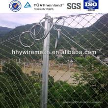 sistema de proteção de declive, rede de fio de inclinação (fábrica)