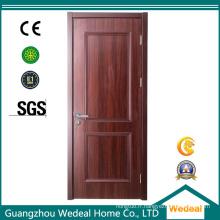 Personnalisation de haute qualité de porte intérieure en bois pour le projet