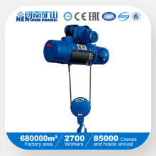 China Good Price Electric Wire Rope Remote Hoist with SGS ISO Ce Certificate