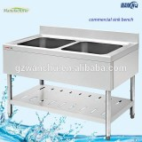 Double Bowl italian kichen stainless steel sink