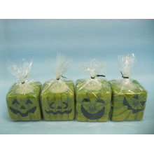 Halloween Candle Shape Ceramic Crafts (LOE2372-D5z)