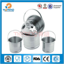 infuser del té del acero inoxidable del hogar, colador del té, herramientas del té