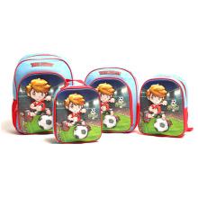 Wholesale Custom Cute Girl Boy Kids Kindergarten Backpack School Bags Set