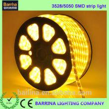 Alta calidad CE RoHS 120LED cálido blanco LED luz de la cinta