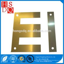 Transformateur de stratifié de noyau de fer d'EI en gros de haute qualité