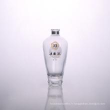 Grossistes chinois en bouteilles d'alcool transparent