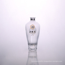 Chinese Clear Alcohol Bottle Wholesalers