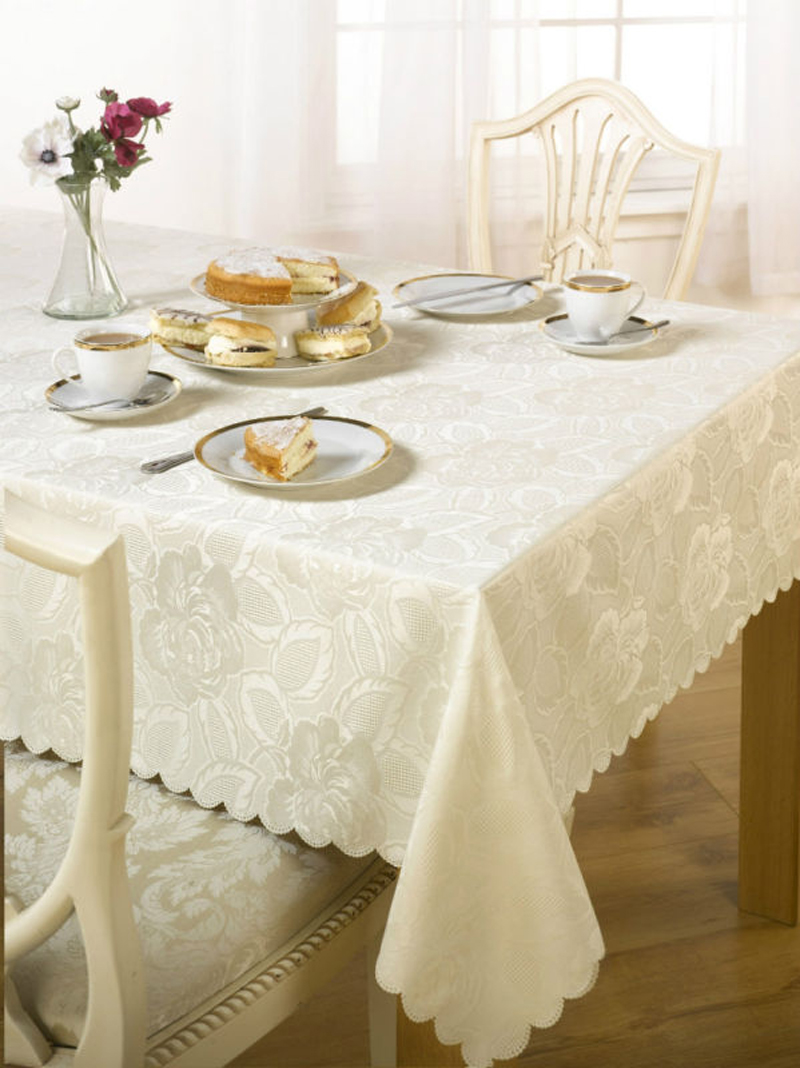 Coating Jacquard Tablecloth