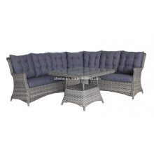Wicker Lounge Sofa Set Garten Outdoor Rattanmöbel