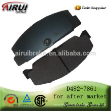 D482-7861 Almohadilla de freno auto de la alta calidad (No. OE: FB06-49-280)