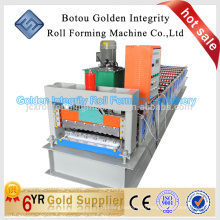 JCX 540 aluminum sheet metal roof panel tile making machine in low price for sale