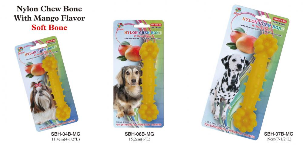 "Percell 6 ""Nylon Dog Chew Osso Manga Perfume"