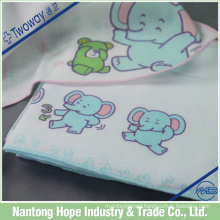 Woven handkerchief of cotton with best absorbency