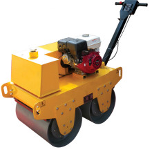 Rodillo de vibración del tambor doble del motor diesel de la gasolina