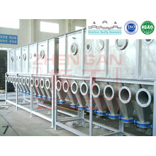 Stainless Steel XF Series Horizontal Boiling Dryer