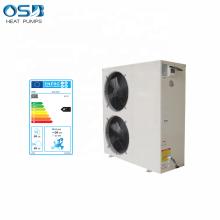 Monobloc Air Source Heat Pump Floor Heating System