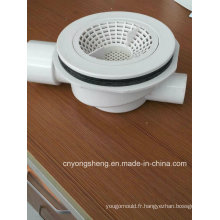 Moule en plastique de filtrage transversal de drain