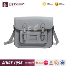 HEC stilvolle neue College junge Dame Silber billige Handtasche für den Großhandel