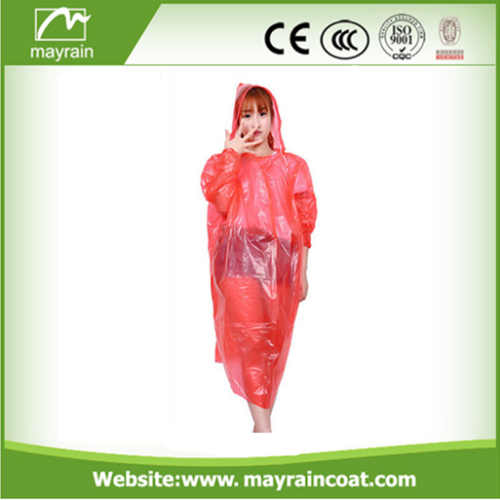 Raincoat with Sleeves