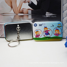 Wholesale Promotional Logo Printed Gift Metal Keychain
