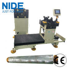 Well pump motor stator coil winding inserting machine