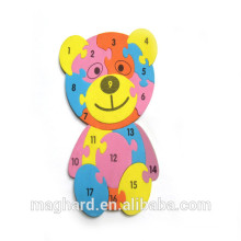China supplier wholesale custom Number Magnetic Puzzle
