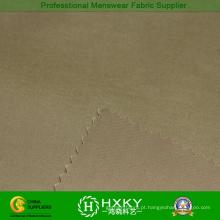 Poly planície tingida de tecido elástico para o vestuário de Outerwear Men′s