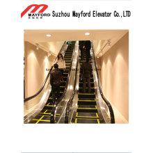 Escada rolante pública durável com etapas de largura de 1000 mm