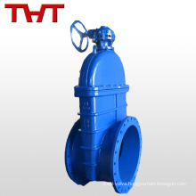 large diameter dbb gate valve