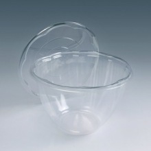 China Manufacturer Wholesale Disposable Blister Clear Plastic Fresh Fruit Salad Packaging Container