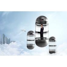 Puerta automática tipo de cápsula de vidrio Panaromic (Sightseeing) Ascensor