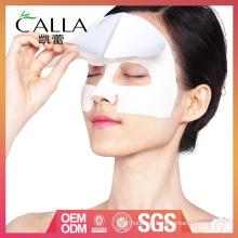 máscara de argila de tratamento facial